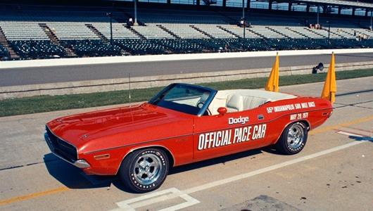 1971 Indianapolis 500 Pace Car, Dodge Challenger