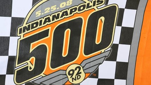 The official logo of the Indianapolis 500.