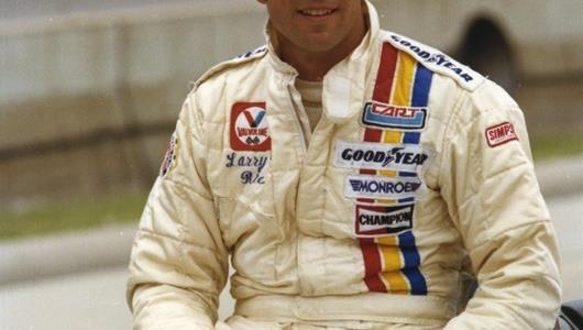 Larry Rice was 1978 Indianapolis 500 co-Rookie of the Year with Rick Mears.