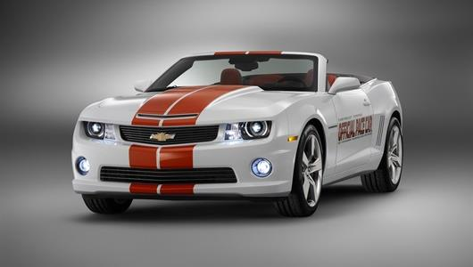 The 2011 Indianapolis 500 Cheverolet Camaro Pace Car