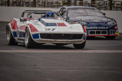 Race Day for the Brickyard Vintage Racing Invitational at IMS