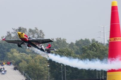 Practice for Red Bull Air Race