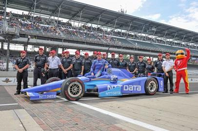 Scott Dixon will start first in the 101st Running of the Indianapolis 500 presented by PennGrade Motor Oil with a four-lap average of 232.164 mph.