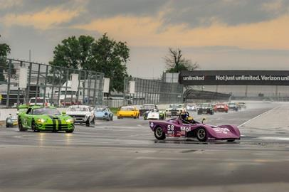 Race groups take to IMS for the Brickyard Vintage Racing Invtational