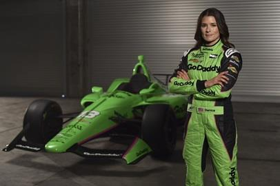 Danica Patrick returns to the Indy 500 with a familiar GoDaddy green livery. This is Danica's first attempt at the Indy 500 since 2011 and is the final race of her trailblazing career in racing.