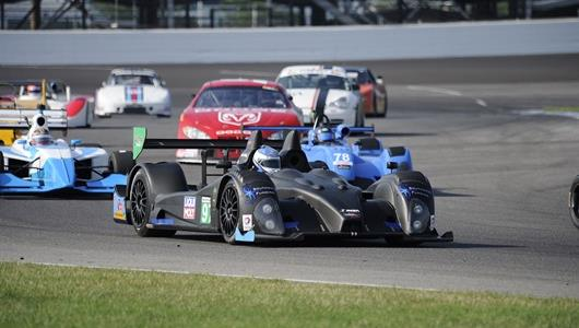 Old prototypes and rare makes could be spotted streaming through the road course during 2018 the Brickyard Vintage Racing Invitational at the IMS.