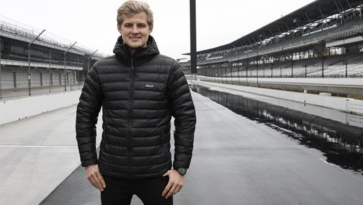 Marcus Ericsson, driver of the No. 7 SPM for the 2019 IndyCar Series season and current Formula 1 driver, visits IMS for the first time
