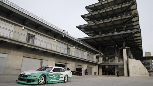 NASCAR Xfinity Series Road Course Test at IMS.