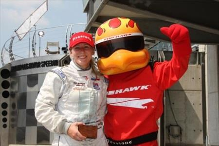 Mann Makes History With Firestone Freedom 100 Pole