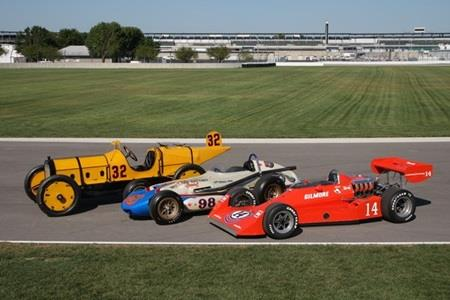 67 Winning Indy 500 Cars Featured In Display At IMS Museum