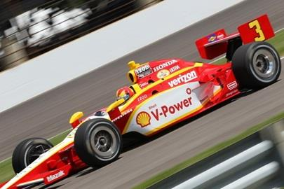 Castroneves Turns Top Lap Of Month, Eyes Pole