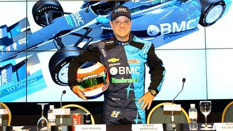 Barrichello starts new chapter in INDYCAR