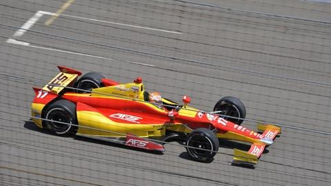 Saavedra leads youth movement on day 2 at Indy