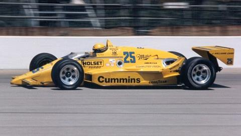 Unser produced Penske's most improbable Indy victory in 1987