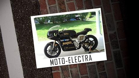 Cycle World Rolling Concours Entries: Moto-Electra