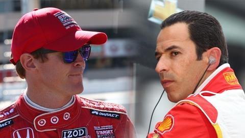 Dixon, Castroneves Have Simple Strategy In Title Showdown: Race To Win