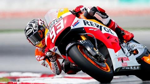 Marquez To Miss Second Sepang Test After Breaking Leg