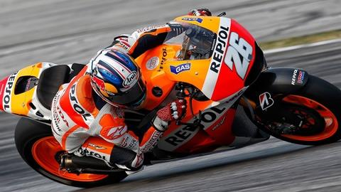 Rossi and Pedrosa in Front at Sepang as Ducati Confirms 'Open' Entry