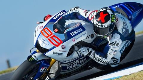 Lorenzo Sets Fastest Time as Phillip Island Test Concludes