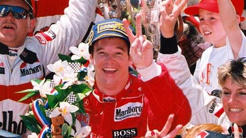 Al Unser Jr. Returns To Competition at IMS