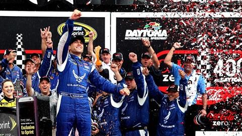 Almirola Claims First NASCAR Victory in Daytona