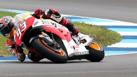 Marquez Leads Opening Day of Red Bull Indianapolis GP