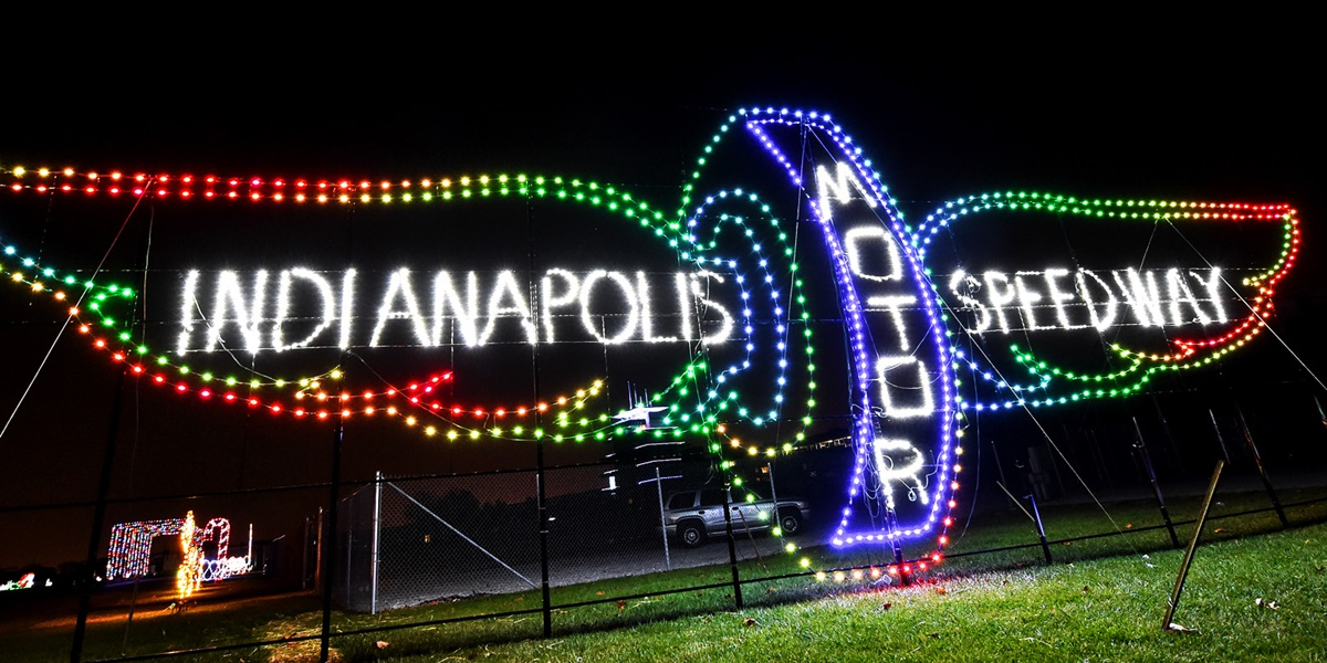Lights at the Brickyard Puts IMS in a New Light for Fans