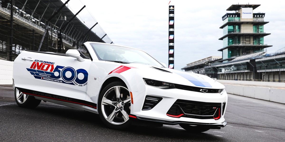 Chevrolet Camaro Ss Convertibles Presented As 500 Festival Event