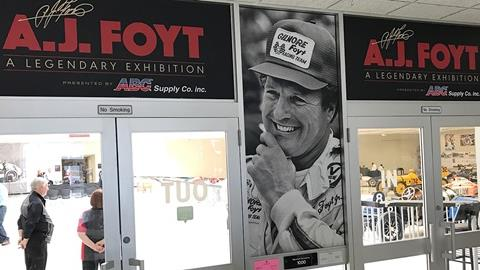 A.J. Foyt - A Legendary Exhibition