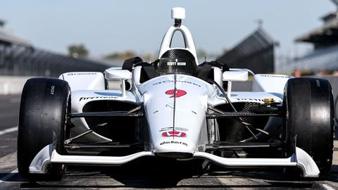 2018 INDYCAR Aero Kit Test
