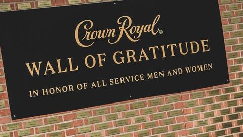 Crown Royal Wall of Gratitude