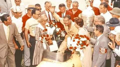 Sam Hanks, 1957 Indianapolis 500