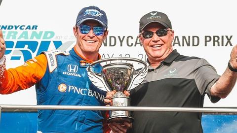 Scott Dixon, Al Unser Jr.
