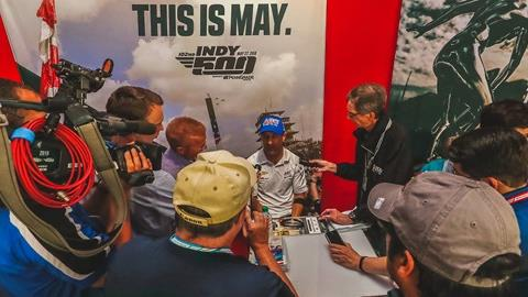 Indianapolis 500 Media Day