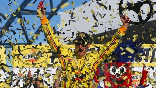 2019 Joey Logano Winning at the Las Vegas Motor Speedway