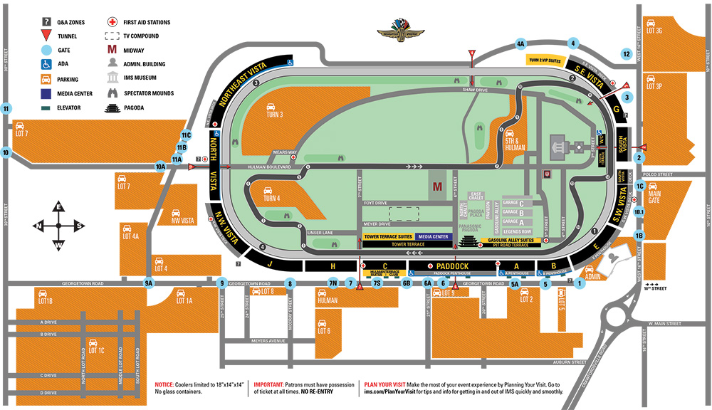 IMS Facility Map