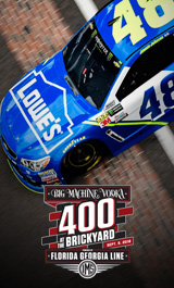 Big Machine Vodka 400 at the Brickyard powered by Florida Georiga Line