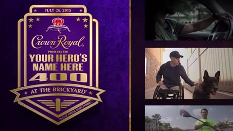 Crown Royal Your Hero's Name Here 400 at the Brickyard