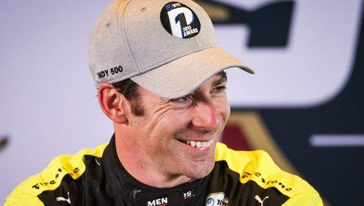 Simon Pagenaud P1 Press Conference