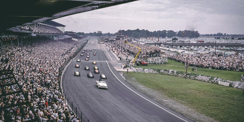 Start Of The 1956 Indianapolis 500