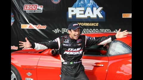 Castroneves Blitzes To Fourth Career Indy Pole After Exciting Shootout