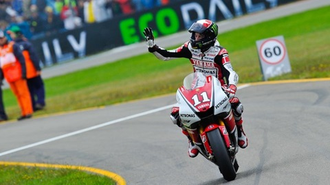 American Spies Breaks Through For First Career MotoGP Victory