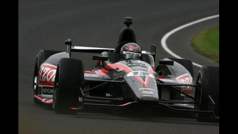 Smooth Sailing For Wheldon With 2012 Car At IMS Oval Test
