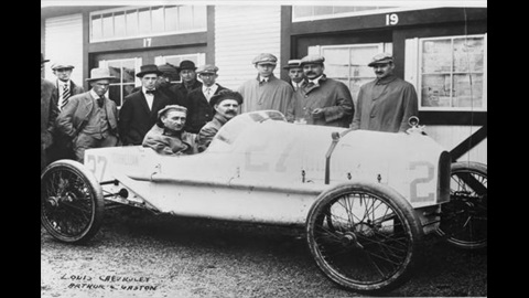 100 Years Later - Chevrolet name still involved at IMS