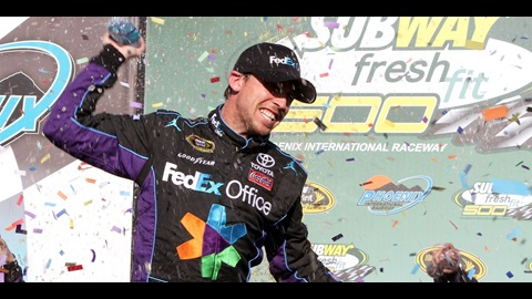 Hamlin Rebounds In Phoenix