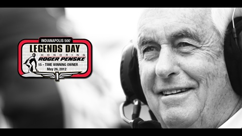 Legendary Team Owner Roger Penske To Be Honored May 26 At IMS