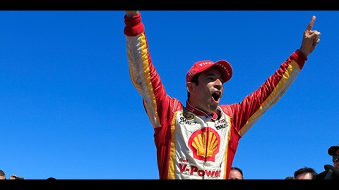Castroneves, Chevy Capture St. Pete Victory