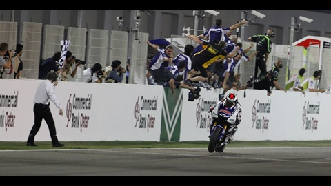 Jorge Lorenzo Opens 2012 With Victory In Qatar
