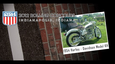 Cycle World Rolling Concours Entries: 1954 Harley-Davidson Model KH