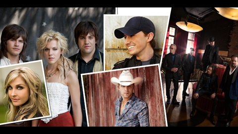 Country Music Stars To Perform Sunday, July 29 At IMS